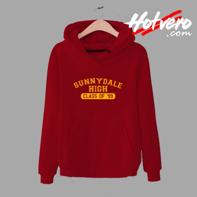 Buffy The Vampire Slayer Sunnydale High Hoodie