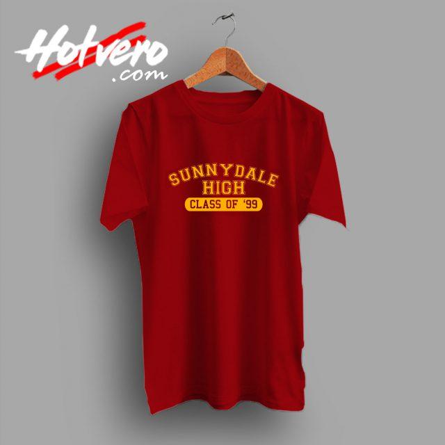 Buffy The Vampire Slayer Sunnydale High T Shirt