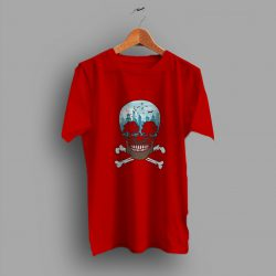 But Still Soft Death City Skull T Shirt