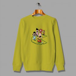 Character Game About Pac Man Funny Sweatshirt