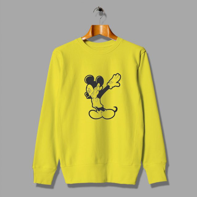 Cheap About Disney Mickey Mouse Dabbing Funny Sweatshirt