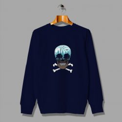 City Skull Funny Cheap Sweatshirt