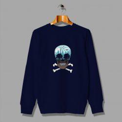 City Skull Funny Cheap Sweatshirt