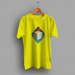 Comfortable Rubiks Cube Abstract 80s T Shirt
