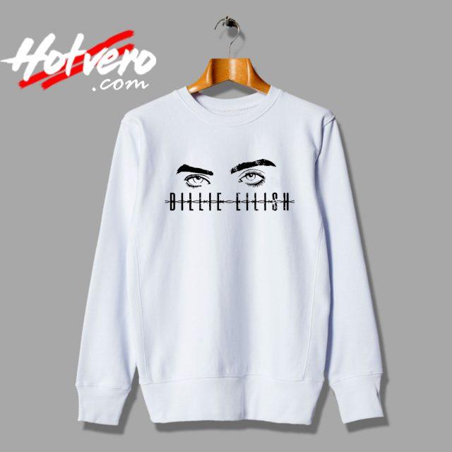 Cute Billie Eilish Ocean Eyes Sweatshirt