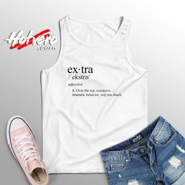 Extra Definition Funny Flowy Tank Top