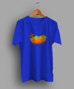 Feels Fun Name Hot Dog Food Cute T Shirt