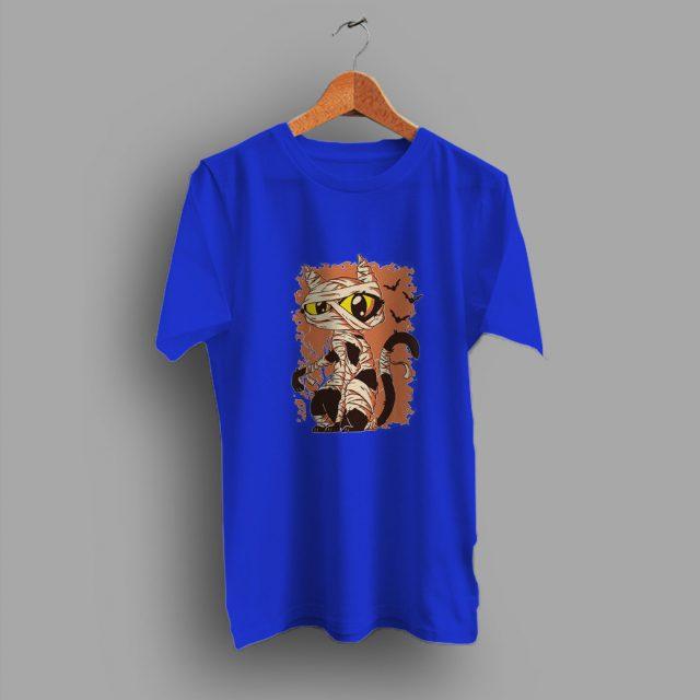Feels Soft Cat Mummy Halloween T Shirt