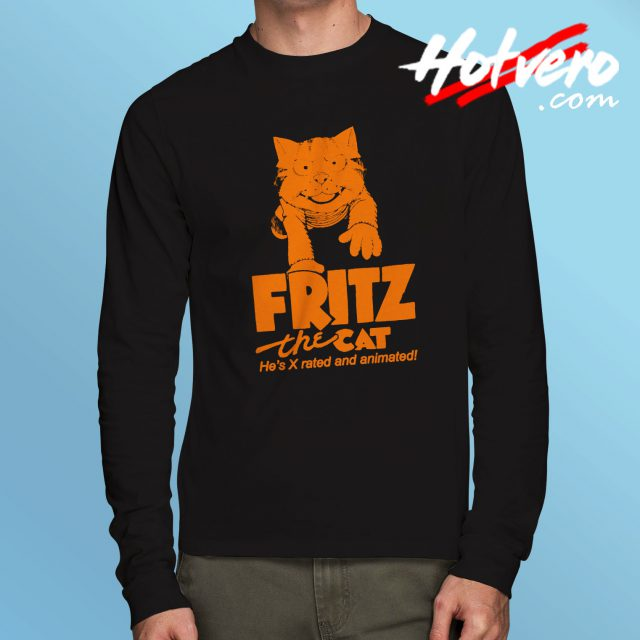 Fritz The Cat Vintage Movie Long Sleeve T Shirt