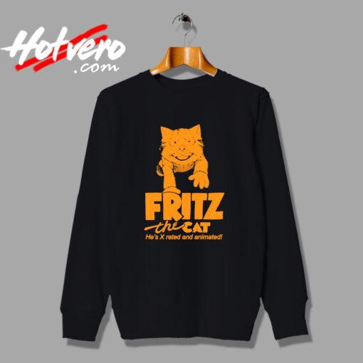 Fritz The Cat Vintage Movie Sweatshirt