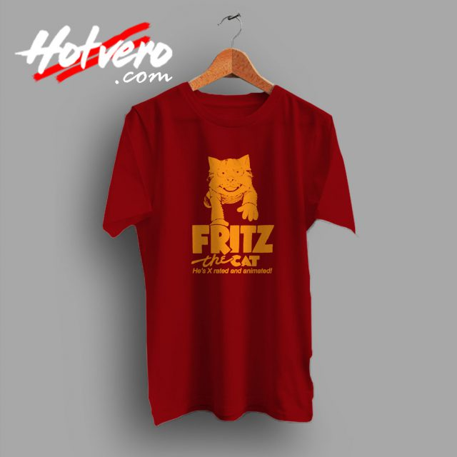 Fritz The Cat Vintage Movie T Shirt