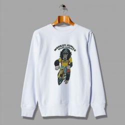 Funny Monkey Jungle Miami Florida Sweatshirt