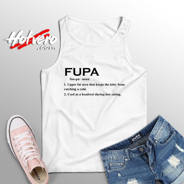 Fupa Word Meaning Tank Top