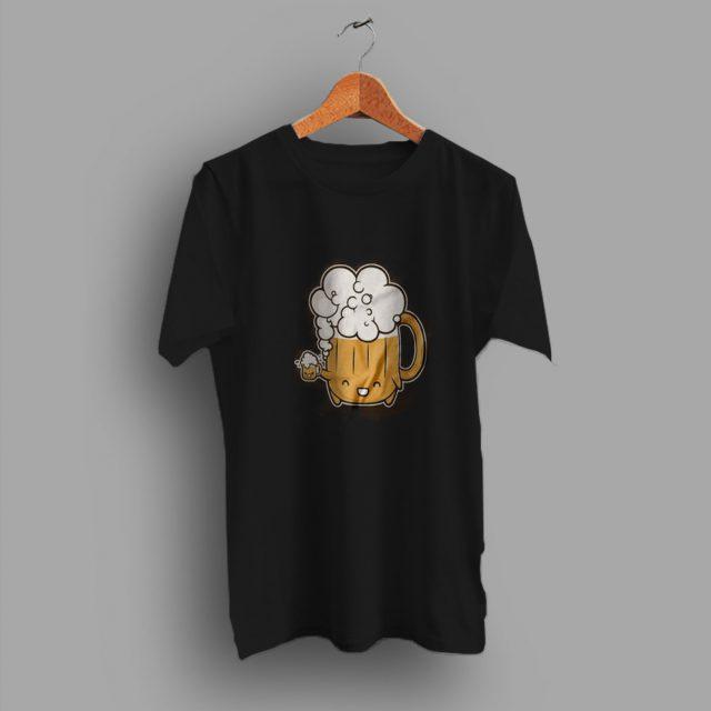 Kawai Geeky Beer Monster Cute T Shirt