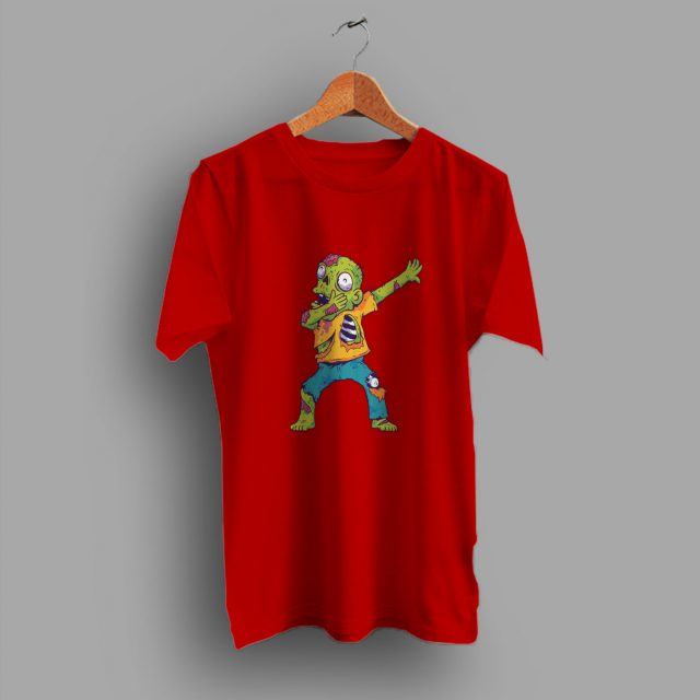 Monster Scary For Dabbing Zombie Halloween T Shirt