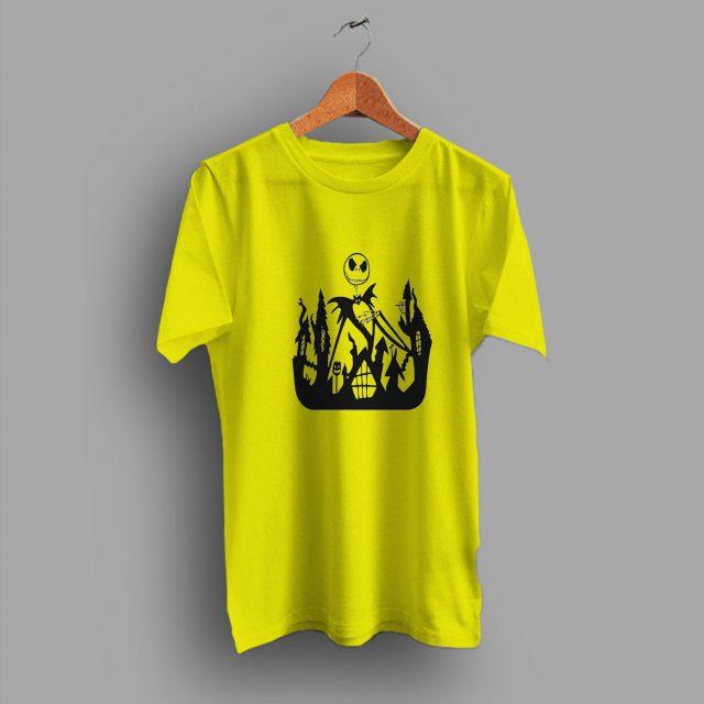 Nightmare Before Christmas Jack Skellington Halloween T Shirt