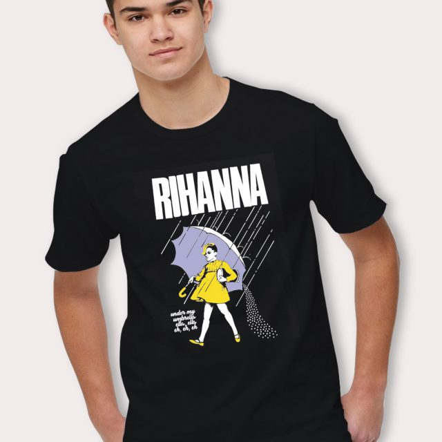 Rihanna Umbrella Girl Supreme T Shirt Inspired