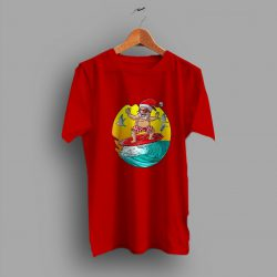 Santa Surf Hawaiian Summer Family T Shirt