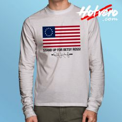 Stand Up For Betsy Ross Limbaugh Long Sleeve T Shirt
