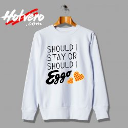 Stranger Things Eggo Quote Sweatshirt