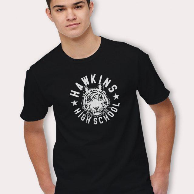 Stranger Things Hawkins High School T Shirt