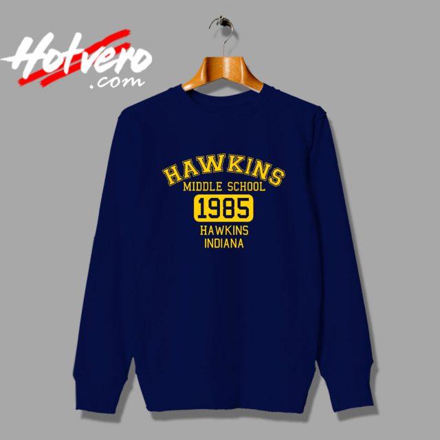 Stranger Things Hawkins Middle School Sweatshirt