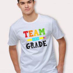 Team Third Grade Squad Crew T Shirt