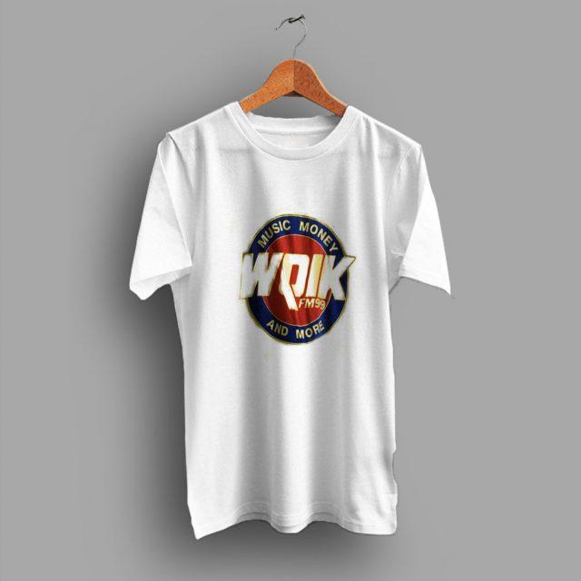 Thread Bare Country Radio WQIK Music Money 80s T Shirt