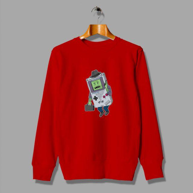 Vintage Funny Cartoon Becomes Video Game Sweatshirt