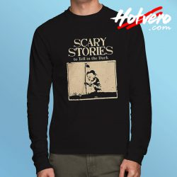 Alvin Schwartz Scary Stories to Tell in The Dark Long Sleeve Tee