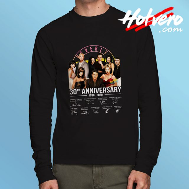 Beverly Hills 90210 30th Anniversary Long Sleeve Tee
