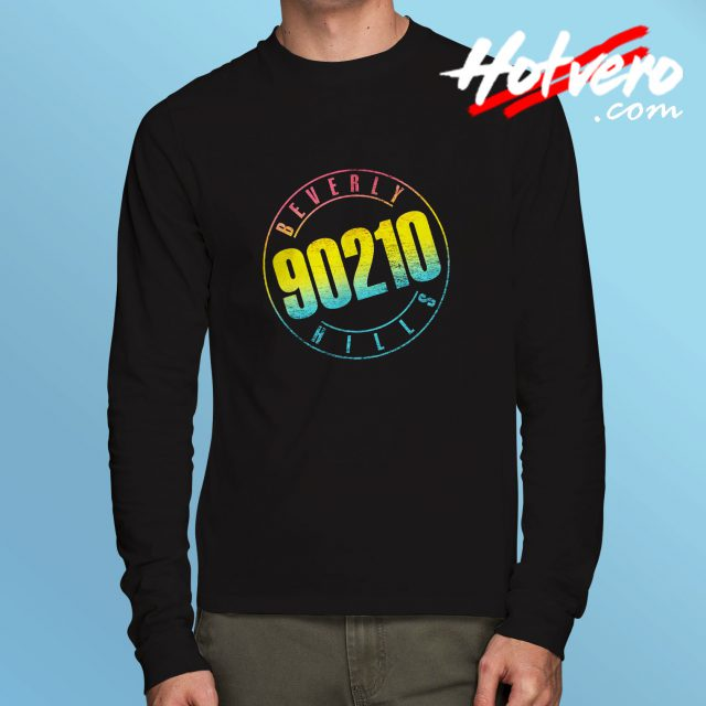 Beverly Hills 90210 Symbol Long Sleeve Shirt