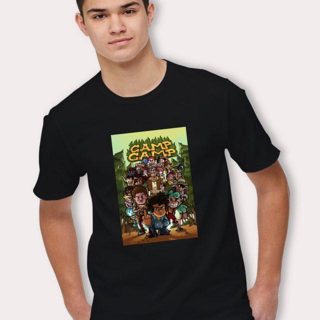 Camp Camp Squad Goals TV Show T Shirt