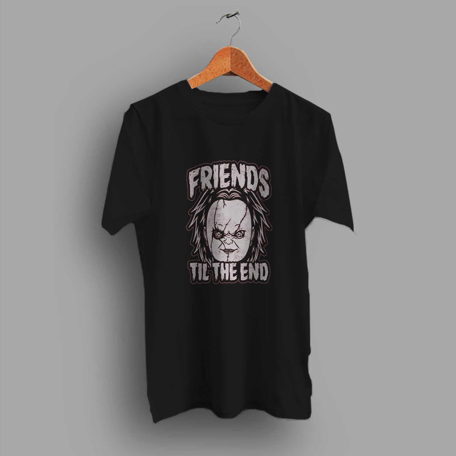 Halloween Friends Shirt.Chucky Friends Til The End Halloween T Shirt