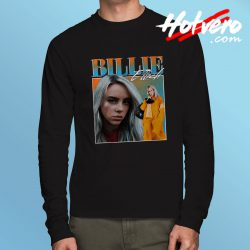 Classic Billie Eilish Streetwear Long Sleeve T Shirt
