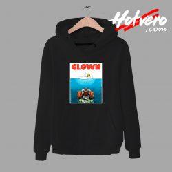 Clown Jaws Halloween Parody Hoodie