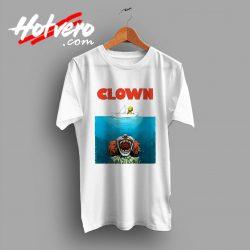 Clown Jaws Halloween Parody T Shirt