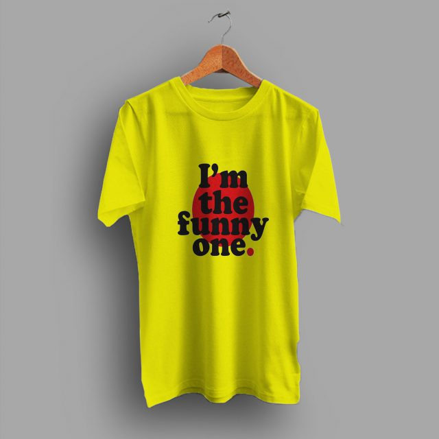 Comedy Relief Charity Im The Funny One Slogan T Shirt