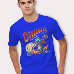 Cute Ohana Lilo Stitch Pizzeria Pizza T Shirt
