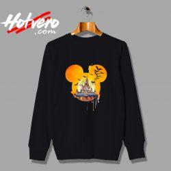Disney Halloween Castle Sweatshirt