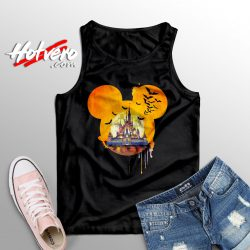 Disney Halloween Castle Tank Top