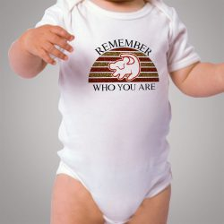 Disney Lion King Remember Who You Are Baby Onesie