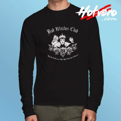 Disney Maleficent Bad Witch Club Halloween Long Sleeve Tee