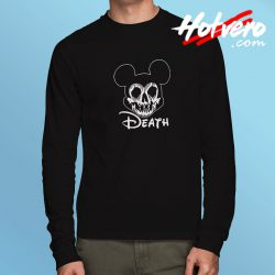 Disney Mickey Mouse Death Halloween Long Sleeve T Shirt