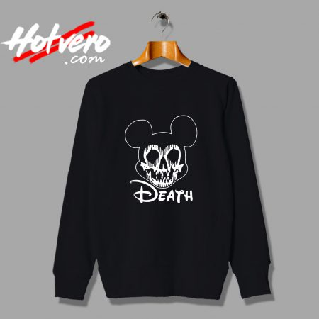 Disney Mickey Mouse Death Halloween Sweatshirt
