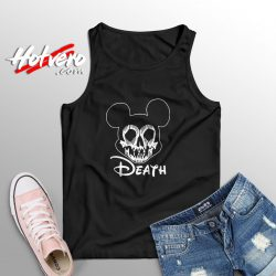Disney Mickey Mouse Death Halloween Tank Top