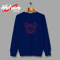 Funny Disney Mickey Mouse Pumpkin Halloween Sweatshirt