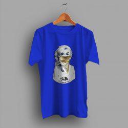 Golden Foil Bandana Marilyn Monroe Urban T Shirt