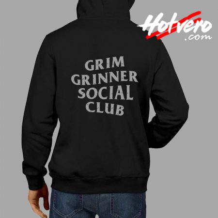 Grim Grinner Social Club Haunted House Hoodie