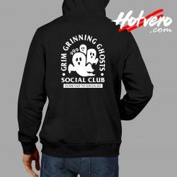 Grim Grinning Ghost Social Club Halloween Hoodie